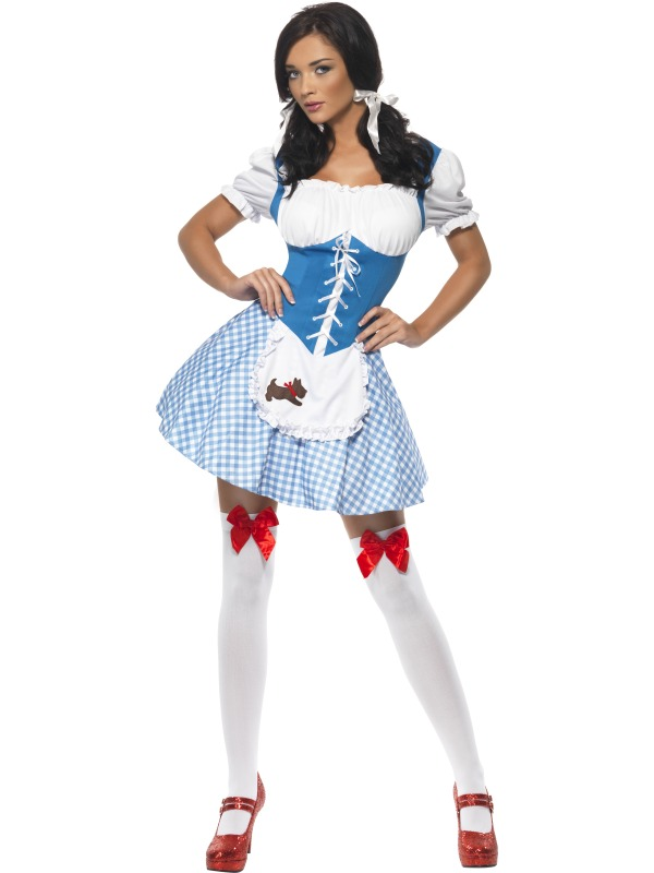 Oz costume adult of dorothy wizard