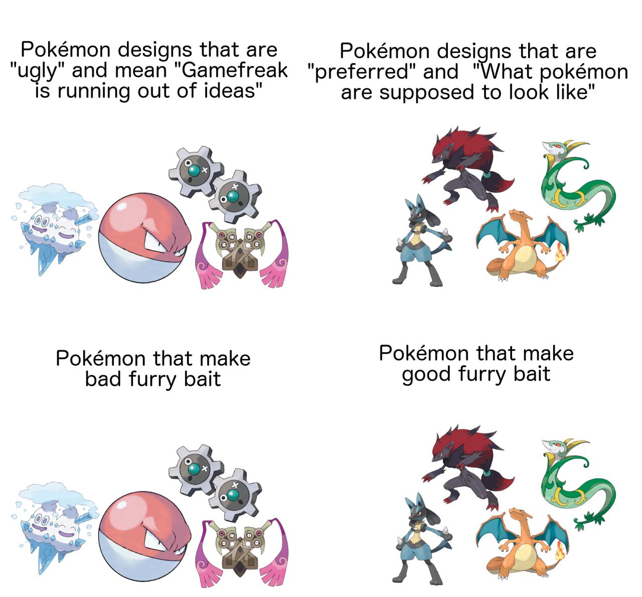 meme Furry pokemon