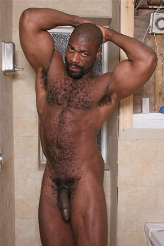 daddy bear hairy Naked black men