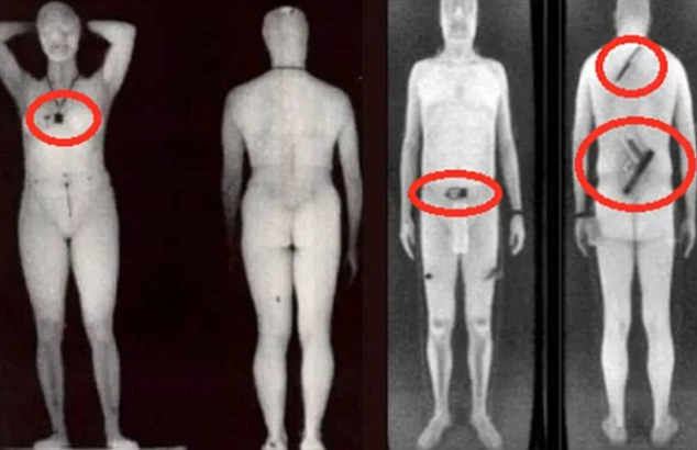nude Airport body scan