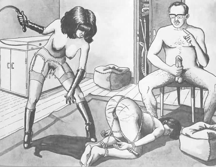 bondage art bdsm