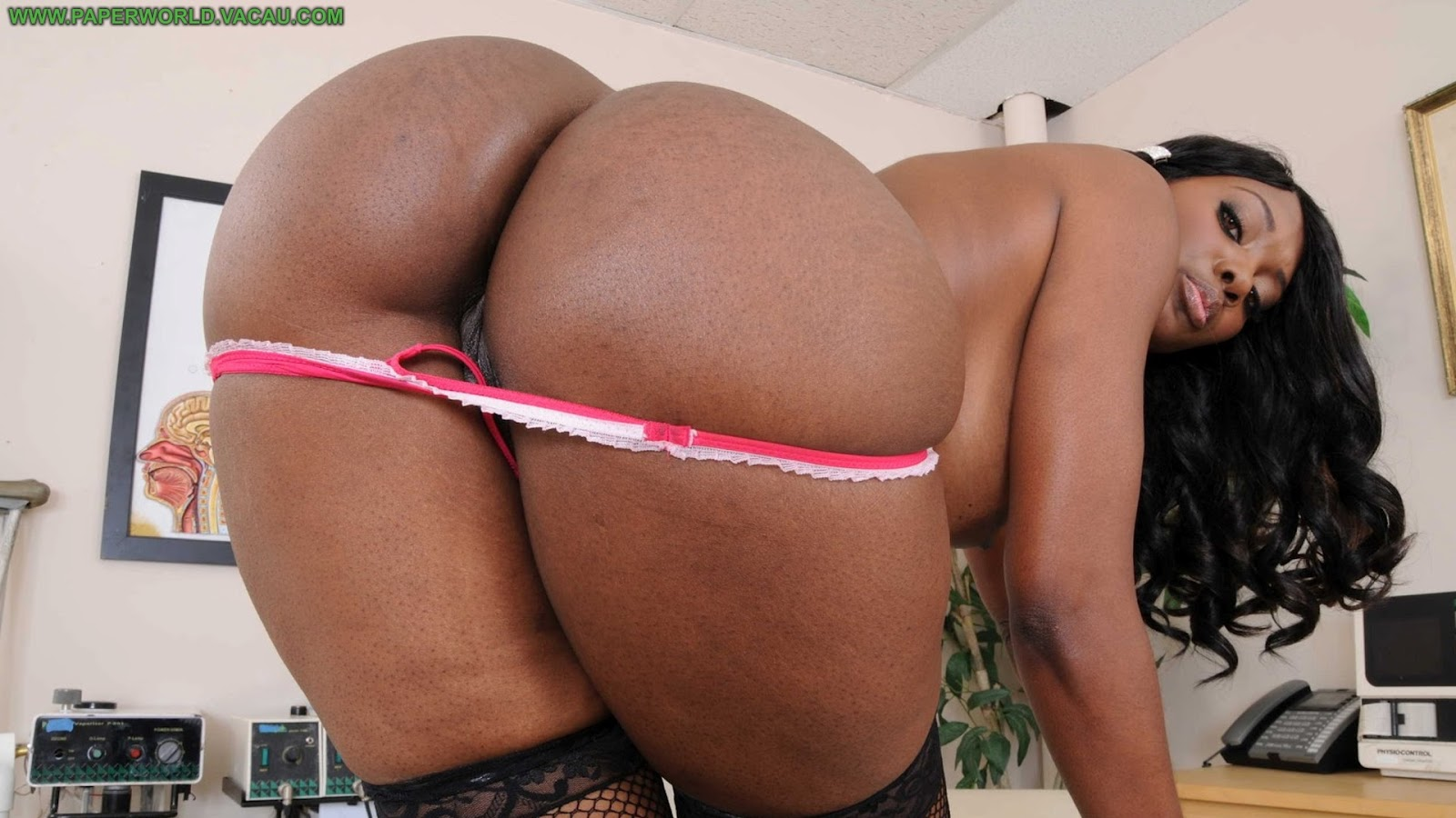 video butt Big black