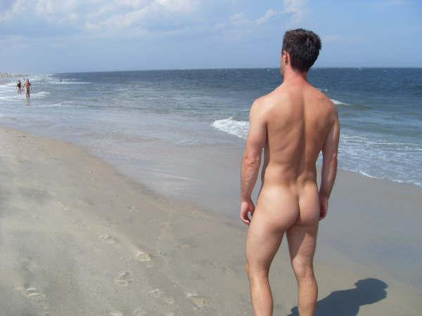 nude beaches Naked men in