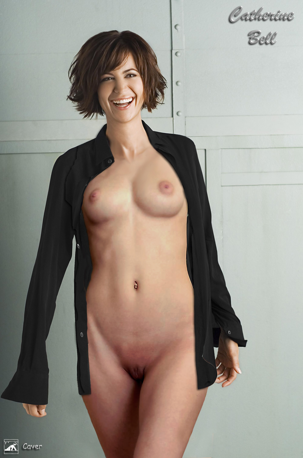 topless catherine bell