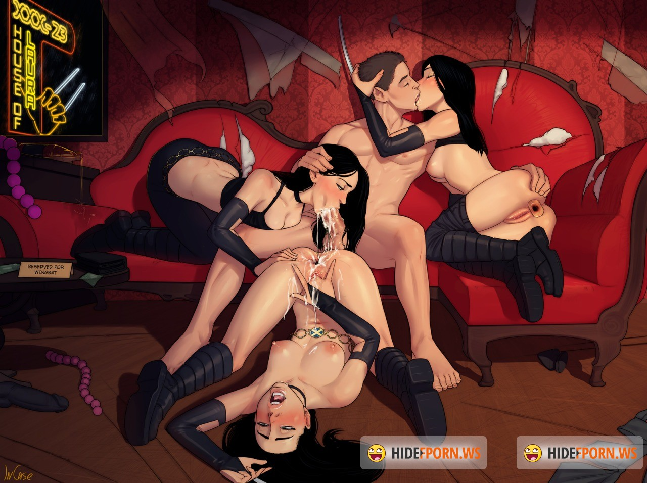 cartoon The ultimate orgy