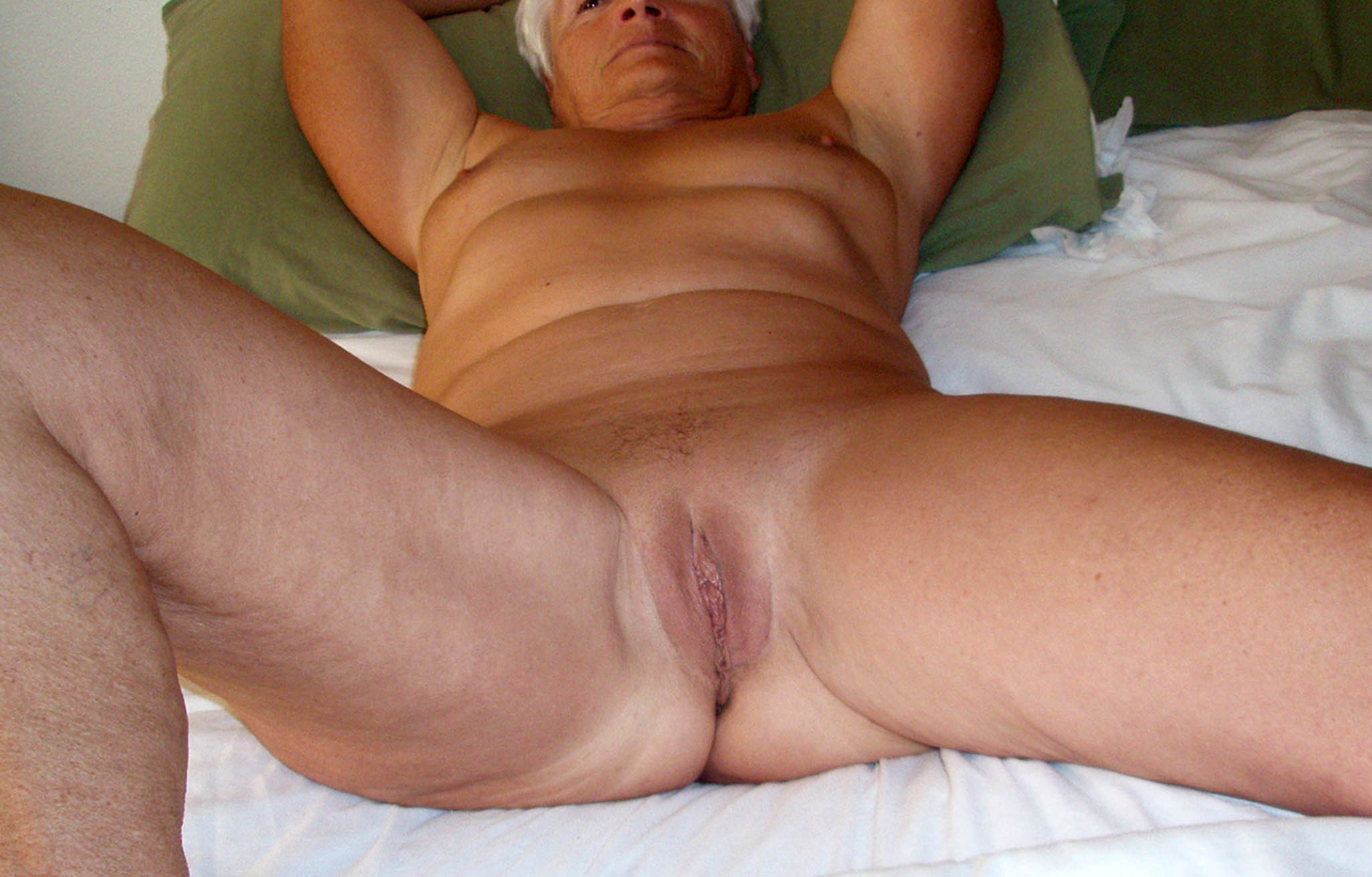 spread Homemade on bed mature