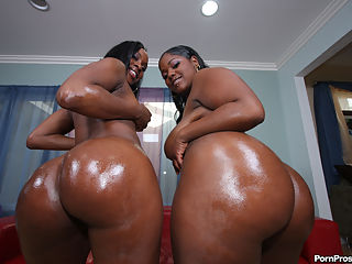 pretty naked booty big black