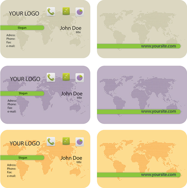 10 Card maps page