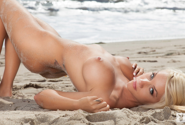 models nude Sexy blonde playboy