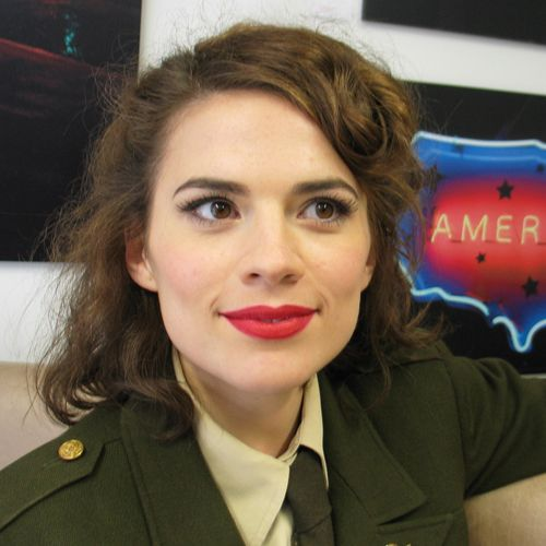 america captain atwell Hayley carter peggy
