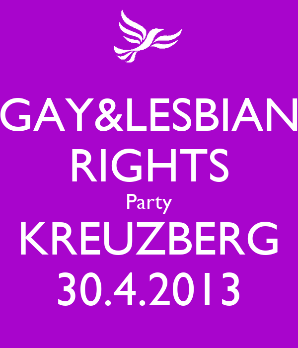 rights party Gay