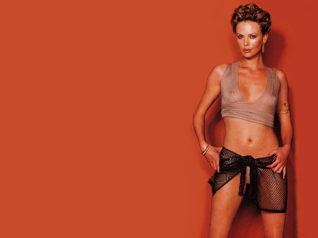 body sexy Charlize theron