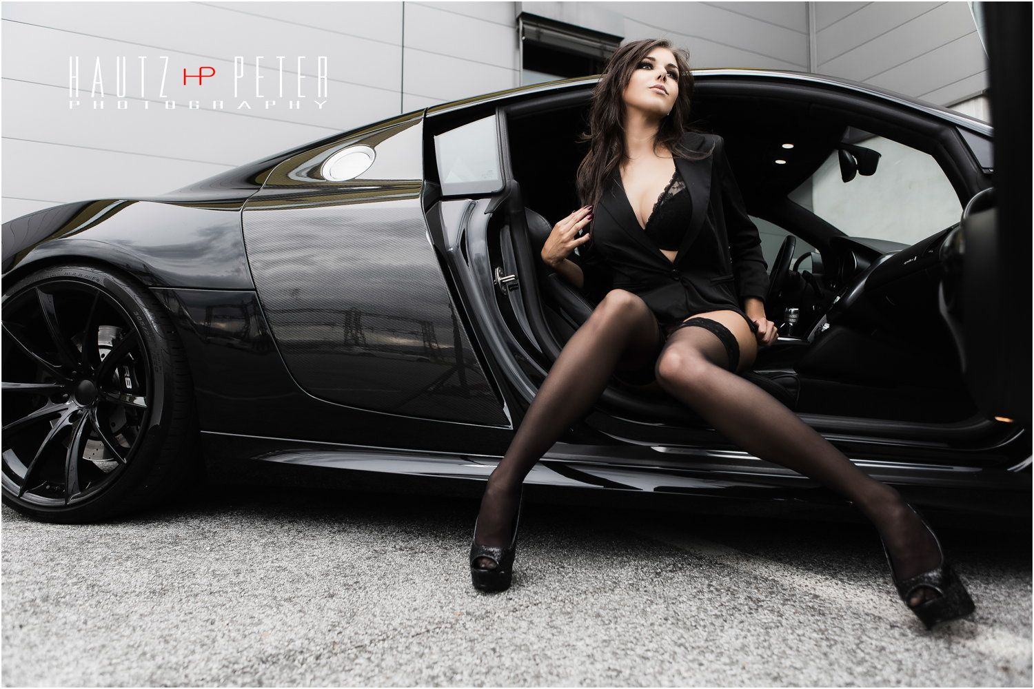 sexy cars r8 on Audi girls