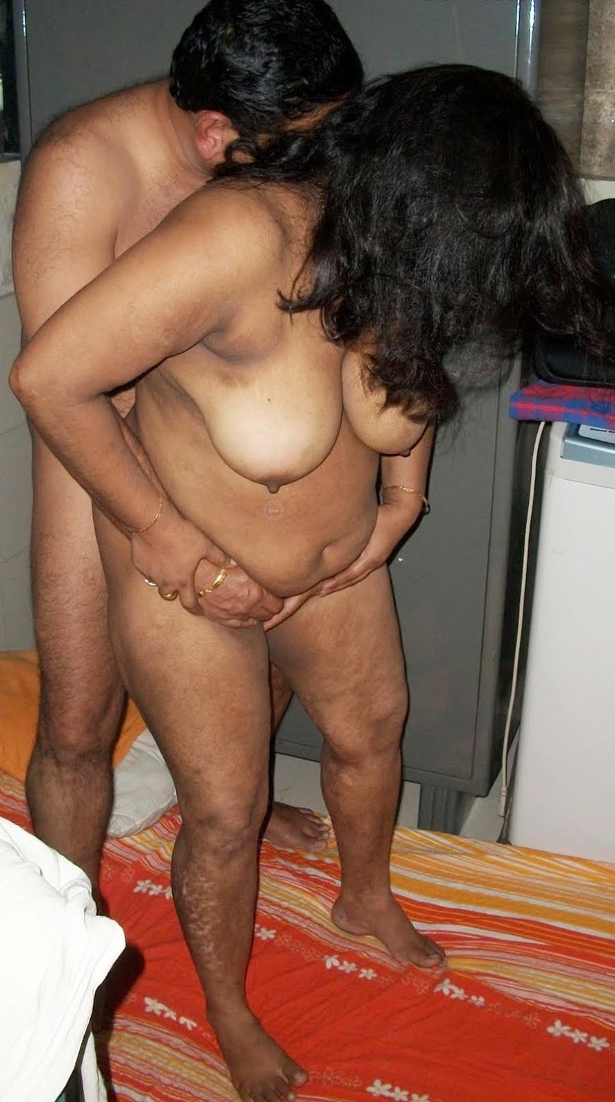 in bed aunty nude indian