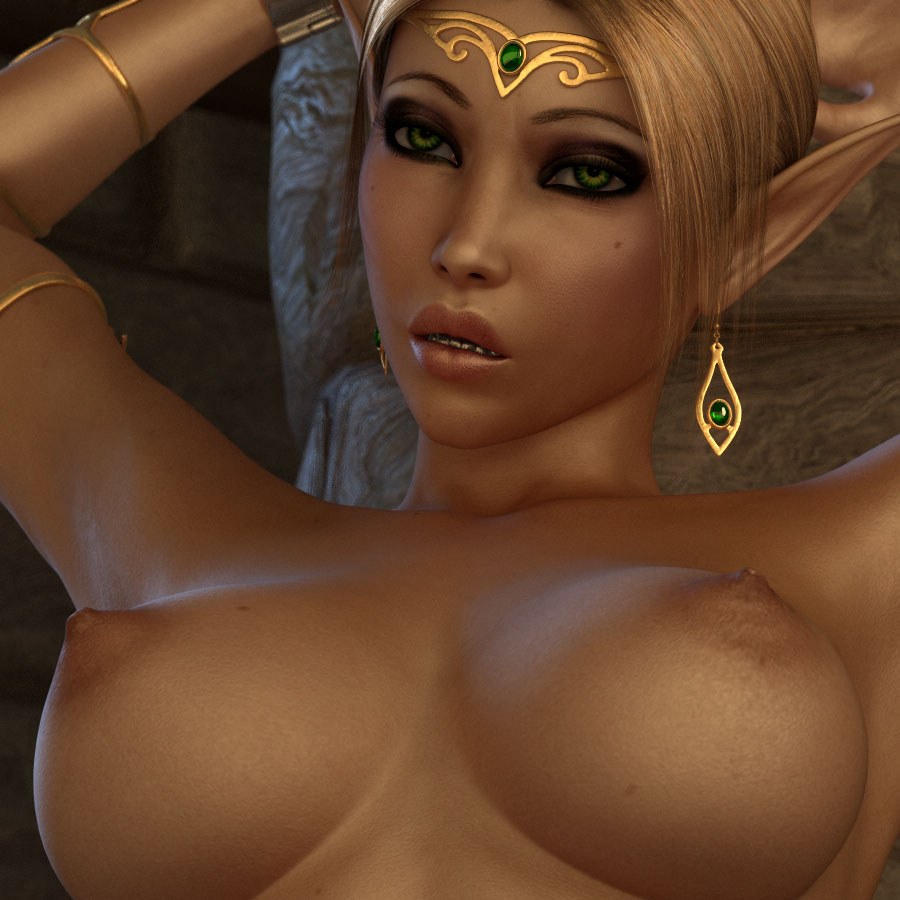 comic porn Elf queen