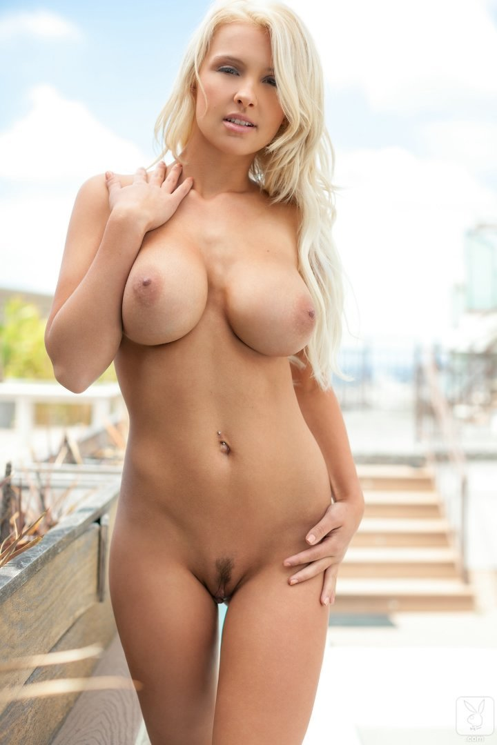 models Sexy nude playboy blonde