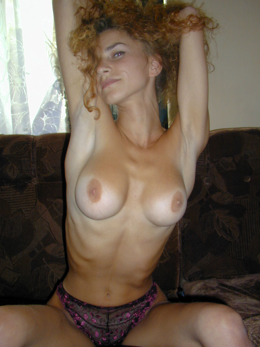 big Skinny tits sex blonde with