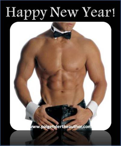 happy Sexy new year male