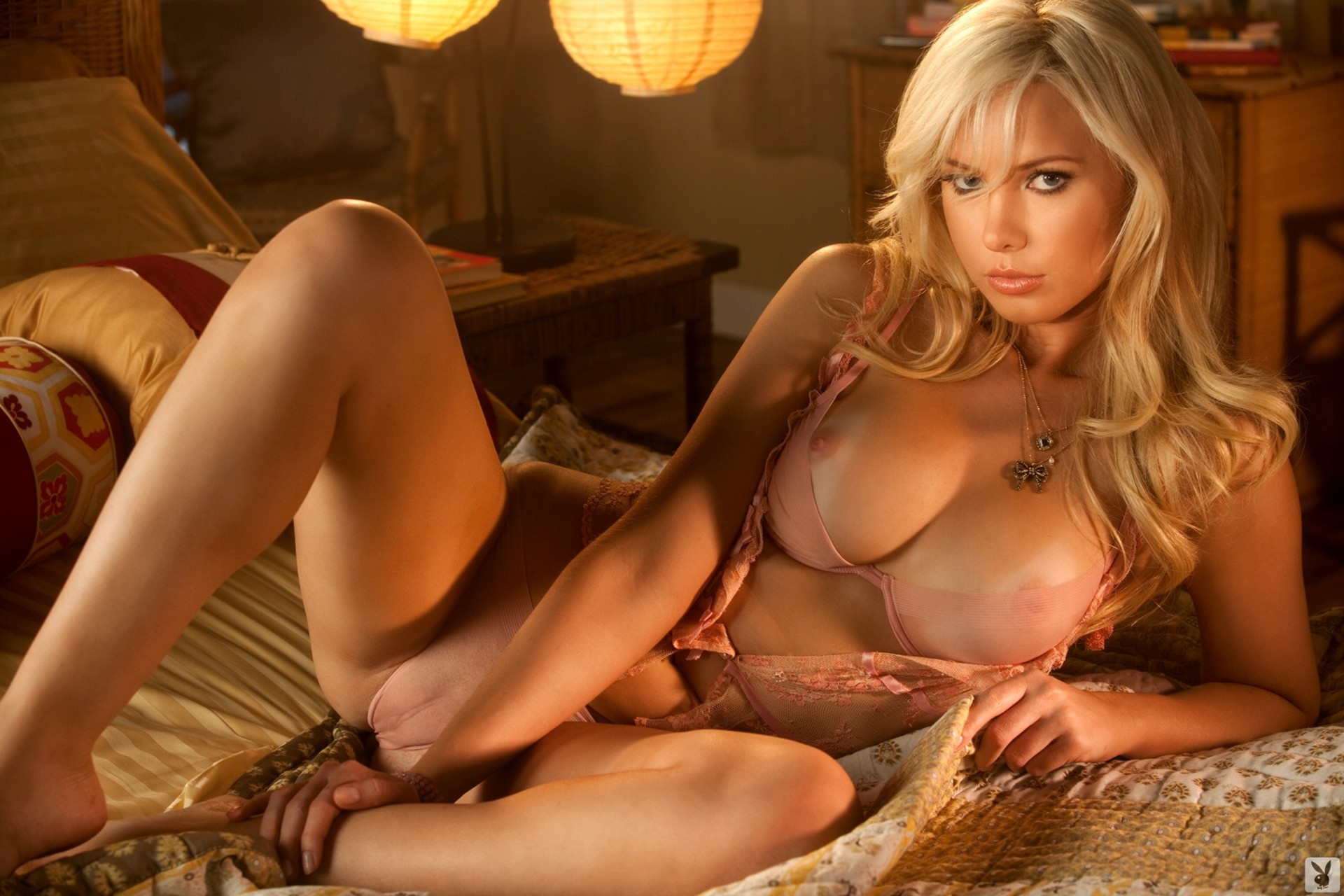 blonde nude models Sexy playboy