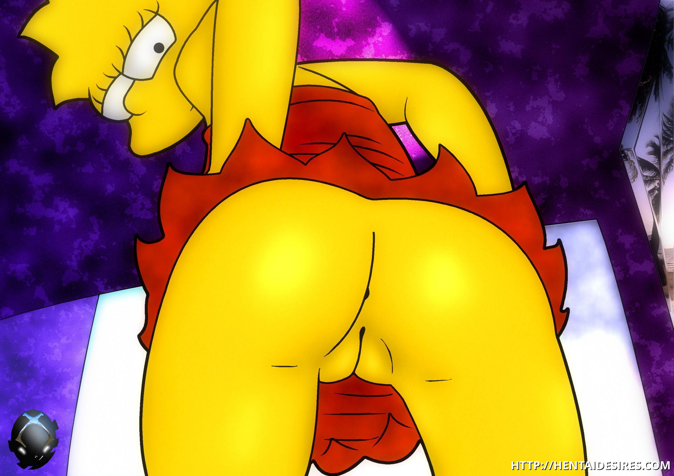 simpson comic lisa nude