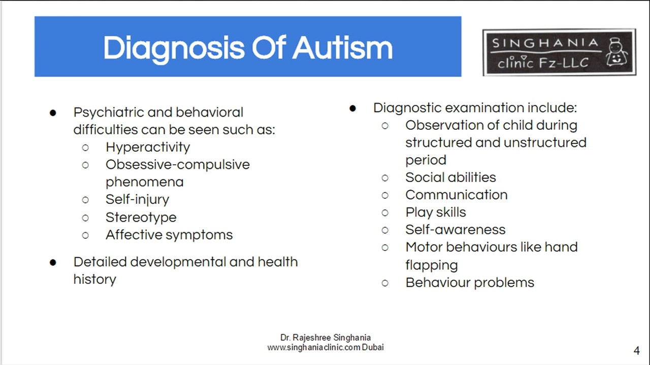 signs adults autism Mild in